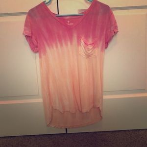 Ombré american eagle soft and sexy shirt!